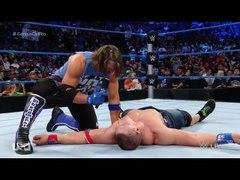 WWE WWE 2016 Aj styles attacks John cena WWE Smackdown 16 au