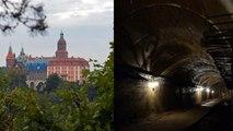 Des aventuriers à la recherche d'un train rempli de trésors nazis