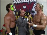 Sting and Lex Luger with the plan, WCW Monday Nitro 19.08.1996