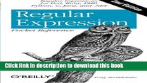 [Download] Regular Expression Pocket Reference: Regular Expressions for Perl, Ruby, PHP, Python,