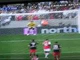 Landreau penalty PSG-Arsenal