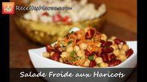 Salade Froide aux Haricots Rouges - Cold Bean Salad - Salade Froide aux Haricots Rouges  - Cold Bean Salad - سلطة
