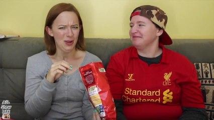 Weird Olympic Chip Taste Test ┃ ASL Stew Life