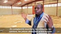 Le PAM se fait voler 24 millions d'euros de matériel à Juba