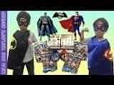 JUSTICE LEAGUE Batman vs Superman Surprise Eggs, Blind Boxes, Blind Bags | Liam and Taylor's Corner