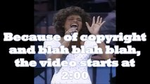 Whitney Houston - One Moment in Time [live at Grammys]