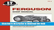 EBOOK] DOWNLOAD Ferguson Shop Manual: Models Te20, To20