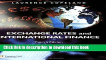 [Popular] Exchange Rates and International Finance (4th Edition) Paperback Online