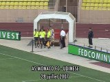 AS MONACO FC vs Udinese (1-1) match amical