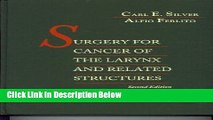 Ebook Surgery for Cancer of the Larynx Free Online