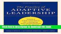 [Popular] Practice of Adaptive Leadership: Tools and Tactics for Changing Your Organization and