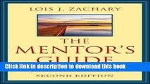 Facilitating Effective Learning Relationships The Mentors Guide