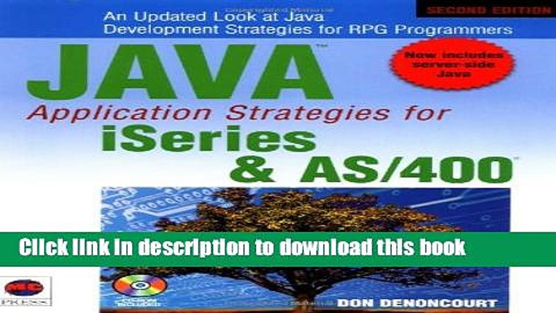 [Download] Java Application Strategies for iSeries and AS/400 Free E-Book