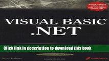 Your visual blueprint for building versatile programs on the .NET Framework Visual Basic.Net