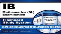PDF IB Mathematics (SL) Examination Flashcard Study System