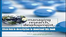 [Popular] Managing Research, Development and Innovation: Managing the Unmanageable Hardcover