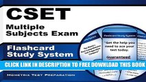 Collection Book CSET Multiple Subjects Exam Flashcard Study System: CSET Test Practice Questions