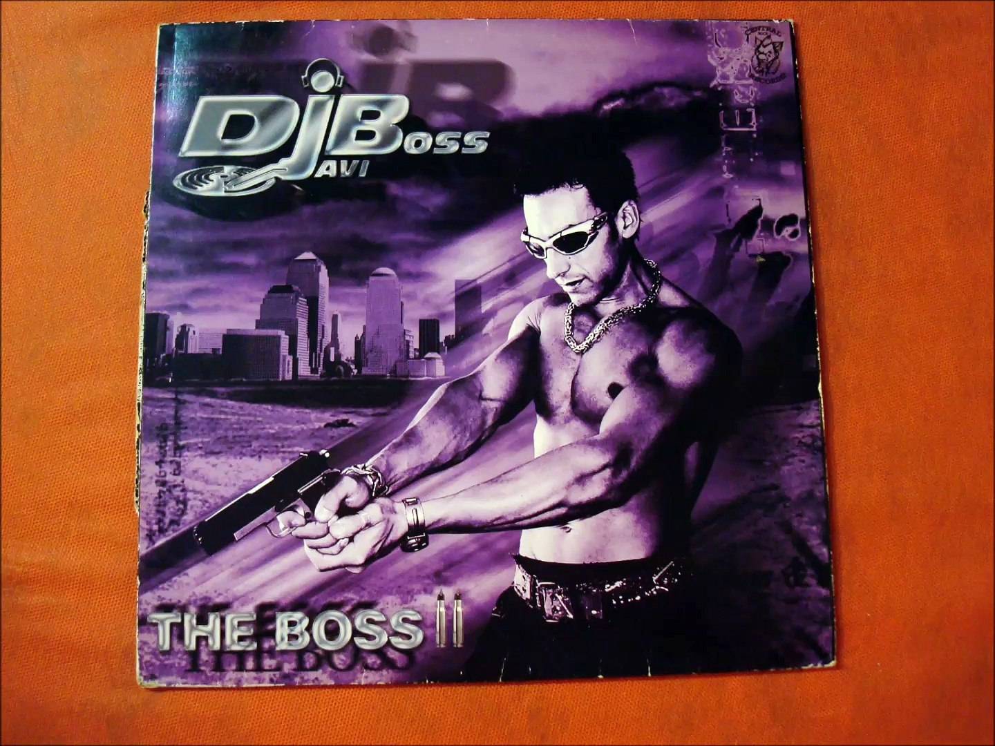 DJAVI BOSS.''THE BOSS II.''.(THE MOTHERFUCKING BOSS.)(12''.)(2003,.)