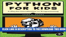 New Book Python for Kids: A Playful Introduction to Programming