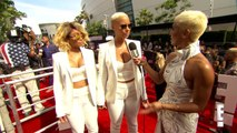 Amber Rose Spreads Positivity at 2015 BET Awards