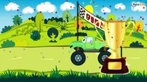 The Tow Truck with The Police Car - Emergency Vehicles and Service Vehicles Cartoons for children