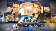 WWE Wrestlemania 28 Chris Jericho VS CM Punk WWE Championship Match