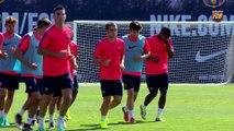 FCB Masia: la pretemporada del Barça B en imatges