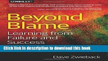 Collection Book Beyond Blame: Learning From Failure and Success