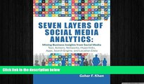 EBOOK ONLINE  Seven Layers of Social Media Analytics: Mining Business Insights from Social Media