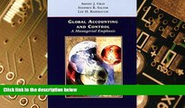 Must Have  Global Accounting and Control: A Managerial Emphasis  READ Ebook Full Ebook Free