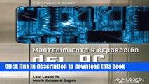 [Read PDF] Mantenimiento y reparacion del PC (HARDWARE Y REDES) (Hardware Y Redes  Hardware and