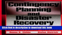[PDF] Contingency Planning and Disaster Recovery: A Small Business Guide Full Colection