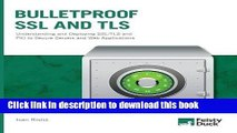 [Popular Books] Bulletproof SSL and TLS: Understanding and Deploying SSL/TLS and PKI to Secure