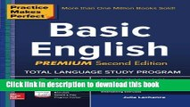 [Popular Books] Practice Makes Perfect Basic English, Second Edition: (Beginner) 250 Exercises +