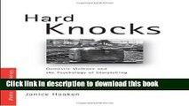 [PDF] Hard Knocks: Domestic Violence and the Psychology of Storytelling (Women and Psychology)