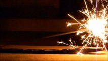 A Video of 10 Inch Wedding Sparklers