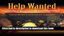 [PDF] Help Wanted: Recruitment   Retention in the Volunteer Fire Service Popular Colection