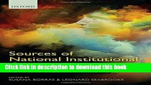 [PDF] Sources of National Institutional Competitiveness: Sensemaking in Institutional Change Full