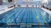 Suspendus, les athlètes paralympiques russes gardent espoir