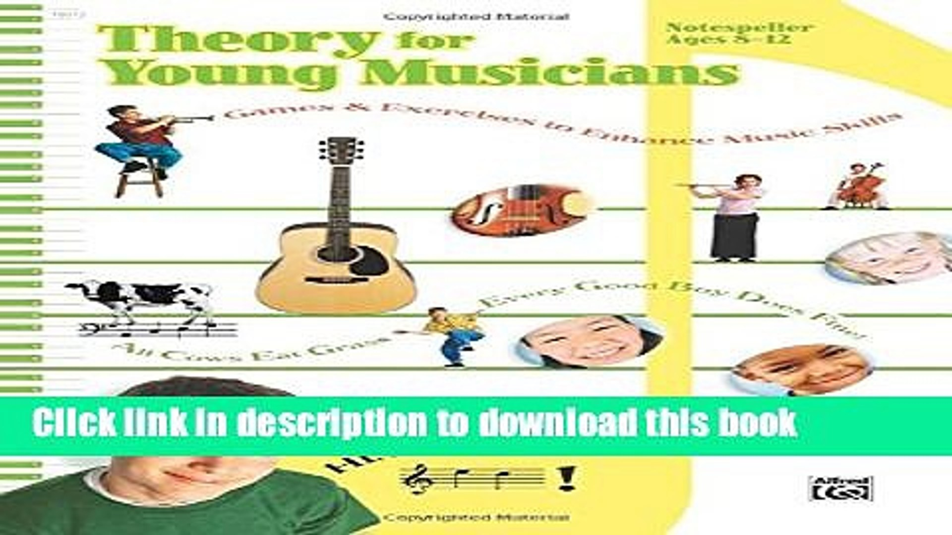[PDF] Theory for Young Musicians, Notespeller Full Online