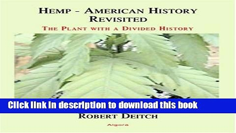 New Book Hemp – American History Revisited (Hc)