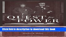 Collection Book Quest for Power: European Imperialism and the Making of Chinese Statecraft