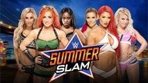 WWE Carmella, Becky Lynch y Naomi vs. Natalya, Eva Marie y Alexa Blis 6-TAG Match SummerSlam 2016 Predicción WWE 2K16