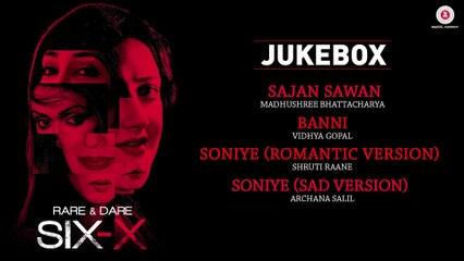Rare And Dare Six-X   Full Movie Audio Jukebox   Shweta Tiwari, Sofia Hayat & Ashmit Patel