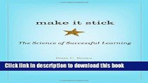 [PDF] Make It Stick: The Science of Successful Learning Popular Online[PDF] Make It Stick: The