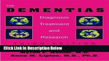Books The Dementias: Diagnosis, Treatment, and Research, Third Edition Full Download