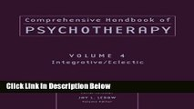Books Comprehensive Handbook of Psychotherapy, Integrative / Eclectic (Volume 4) Full Online