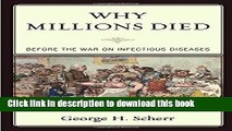 [PDF] Why Millions Died: Before the War on Infectious Diseases Full Colection
