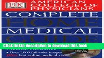 [PDF] American College of Physicians Complete Home Medical Guide (with Interactive Human Anatomy