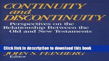 [PDF] Continuity and Discontinuity (Essays in Honor of S. Lewis Johnson, Jr.): Perspectives on the